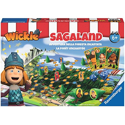 Preisvergleich Produktbild Ravensburger Spiele 21185 - Wickie Sagaland