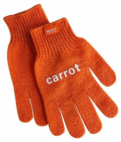 Eddingtons Küchen-Schutzhandschuhe mit Carrot-Schriftzug