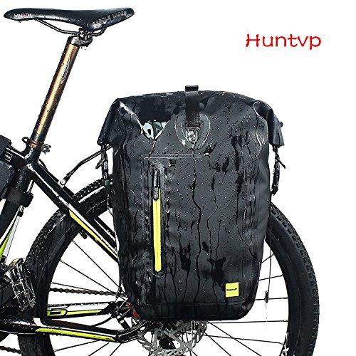 bc66befe0dd Huntvp 13L/25L/26L Bolsa Trasera de Bicicleta Impermeable Multifunción
