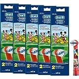 Braun Oral-B Stages Power Kids Testine di Topolino Confezione da Testine per bambini EB10–2K Mickey Mouse