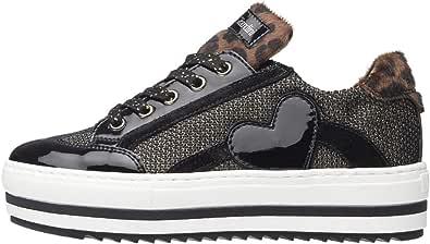 Nero Giardini Teens Diamond Sneaker Nera da Ragazzo A931221F-100