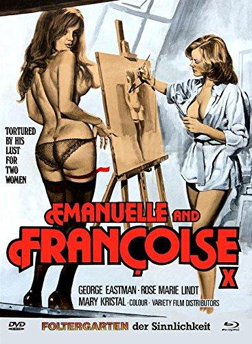 Foltergarten der Sinnlichkeit (Emanuelle e Francoise) - Mediabook Cover D (+ DVD) - Limitiert auf 333 Stück [Blu-ray]
