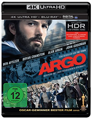 Argo - Ultra HD Blu-ray [4k + Blu-ray Disc]