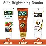 Roop Mantra Face Care Kit for Skin Brightening, Tightening & Whitening (Mix Fruit Facewash 115ml + Multani Mitti Face…