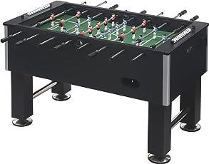BOOT BOY - KICKER TABLES Foosball/ Football/ Soccer Table, 55x30x34 Inches (Black, BB123IN)