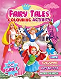 Fairy Tales Colouring Activity for Girls