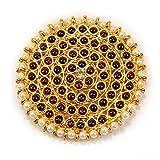 #9: Adarsha Dress Palace Bharatnatyam Kuchipudi Dance Temple Ornament Set Rakudi