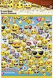 Unique Party 50602sacchetti di plastica con disegno di emoji, Confezione da 8