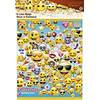 Unique Party emoji Plastique à friandises (lot de 8)