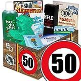 50. Geburtstag | Pflegeset | mit Badusan, Florena und mehr | DDR Pflegebox