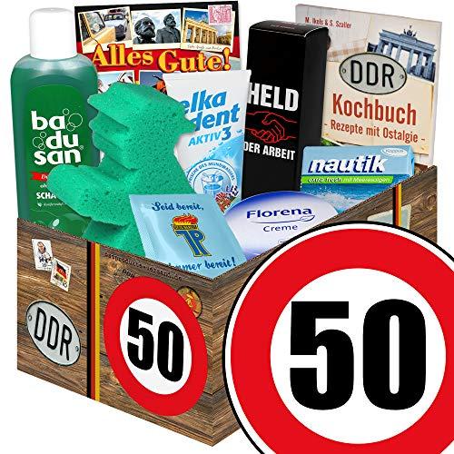 50. Geburtstag Geschenk Idee | Pflegeset | lustige geschenke zum 50. geburtstag (Für Geburtstag Geschenk-ideen 50 Frauen)