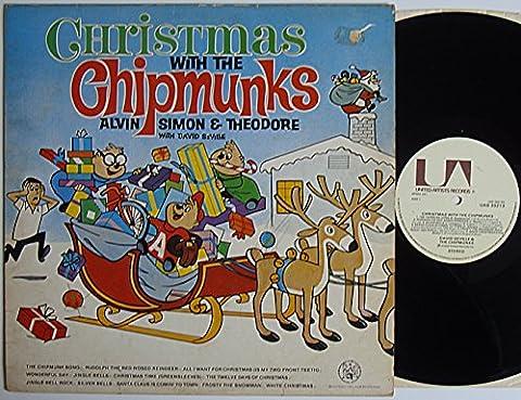 "The Chipmunks - Christmas With The Chipmunks - 12"" LP 1978 - United Artists UAS 30213 - UK Press"