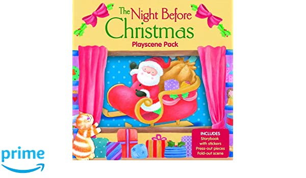 Night Before Christmas Playscene Pack Amazoncouk Gemma Cooper