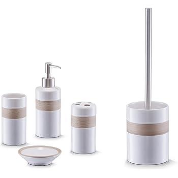 Oyshopp Bad Accessoire Set Kunststoff Badezimmer Zubehor 5