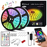 Elfeland LED Streifen 10M LED Stripes RGB 5050SMD 300...