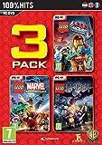 Lego 3 Pack; Lego Hobbit/Lego Movie/Lego Marvel Super Heroes (PC DVD) UK IMPORT
