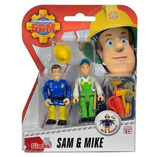 Feuerwehrmann Sam - Spiel Figuren Set - Sam & Mike FS91054