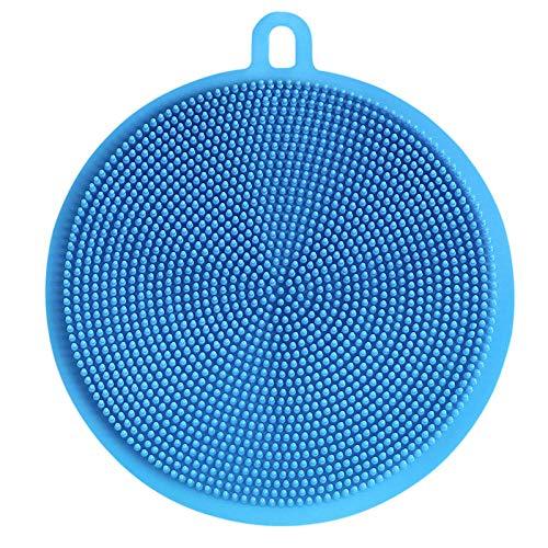 Cepillo para lavar platos Cepillo multifunción de silicona para lavar platos Descontaminación...
