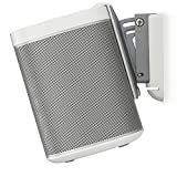 Flexson Tilt and Swivel Wall Mount for SONOS PLAY:1 with Fixing Kit - White from Flexson