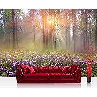 Liwwing FTVLPP-0239-200X140 - Vellón fotografía de fondo 200x140 cm - cima! premium plus fondo de pantalla! murales de papel tapiz mural foto mural de la pared xxl pintado pared wanddeko árboles del bosque, la naturaleza -. no 239