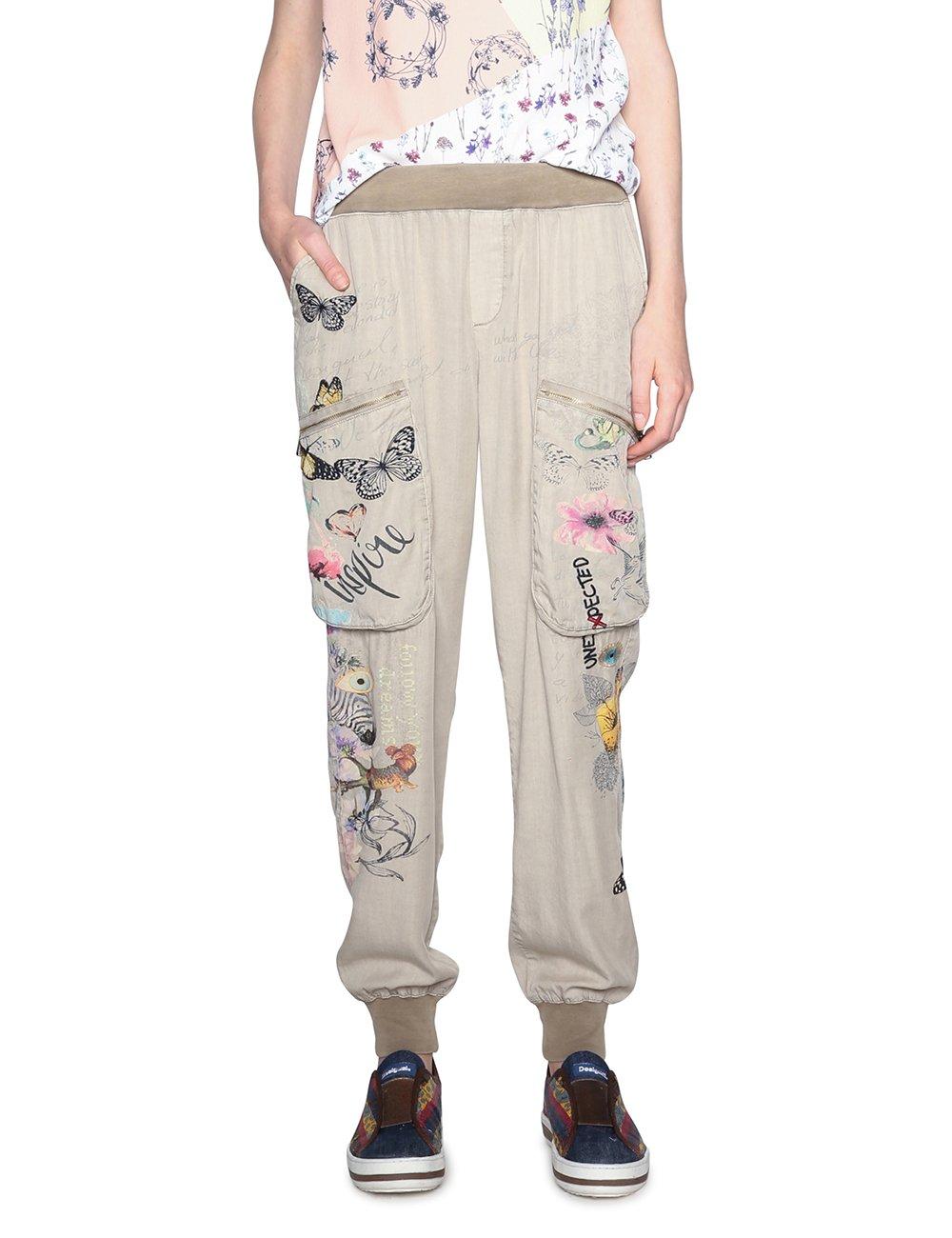 Ofertas Desigual Pant Eddy Pantalones Para Mujer Moda Ofertastop