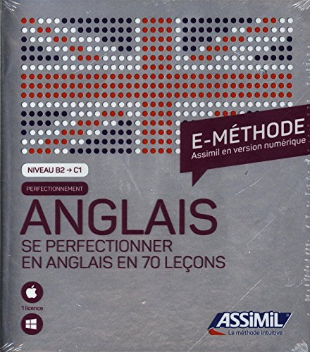Coffret e-methode Perfectionnement anglais