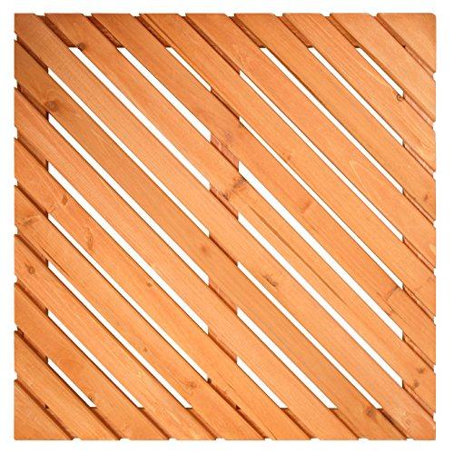 PROTENROP Tarima para Ducha, de Madera, Color marrón