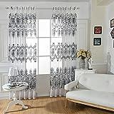 Brightup Blumenvorhang Transparente Tüll Vorhänge Screening Behandlungen Wohnzimmer Kinder Schlafzimmer Vorhang