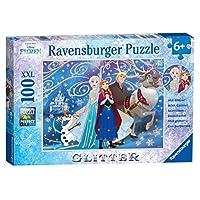 Ravensburger 13610 Disney Frozen Glittery Snow XXL Jigsaw Puzzle - 100 Pieces