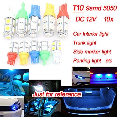 X10T109LED Dongzhen DC12V lampada auto interni per Saab Citroen tronco di comando luce