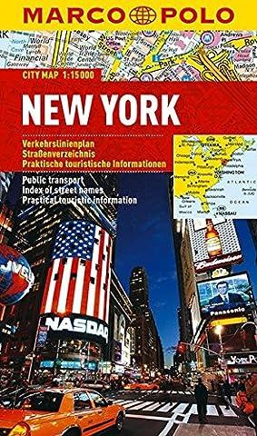 MARCO POLO Cityplan New York 1:15.000 (MARCO POLO