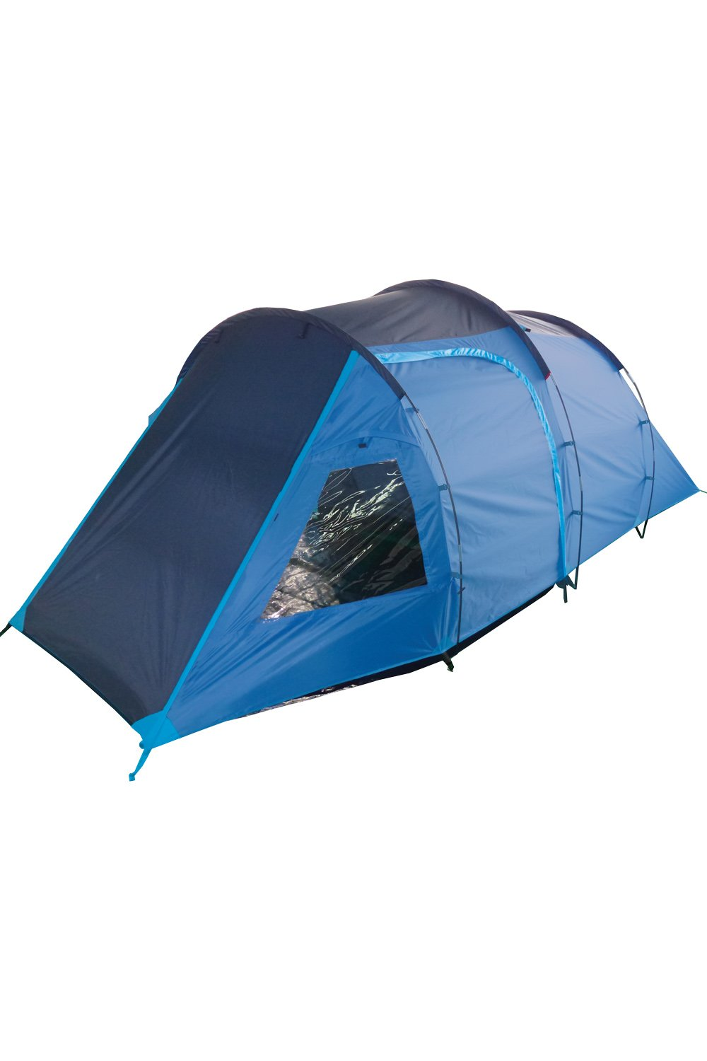 Mountain Warehouse Mini Break 4 Man Tent - Waterproof C&ing Tent Sewn in Groundsheet Family Tent Breathable Door Sleeping Tent Roof Vent with ...  sc 1 st  Amazon UK & Mountain Warehouse Mini Break 4 Man Tent - Waterproof Camping Tent ...