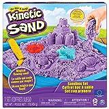 Kinetic Sand - Set Sabbia Modellabile - Ricrea la magia di giocare con la sabbia sulla spiaggia con Kinetic Sand - Kinetic Sand è sabbia modellabile - Kinetic Sand si basa sul 98% di sabbia pura