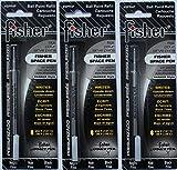 Fisher Space Pen SPR4F, Schwarze Tinte, Feine Spitze, 3 Stück