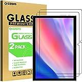 GOZOPO Protector de Pantalla para Teclast P20HD de 10,1 pulgadas, [Resistente a los Arañazos] Película de Vidrio Templado par
