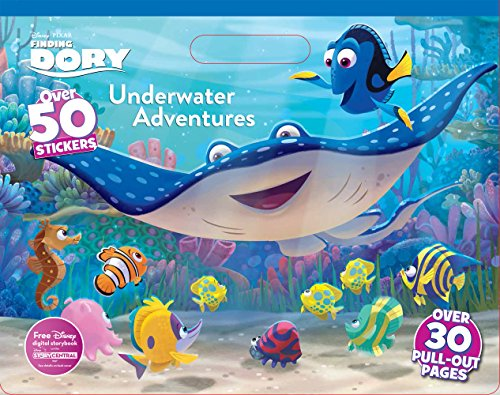 Disney Pixar Finding Dory Underwater Adventures Coloring Floor Pad
