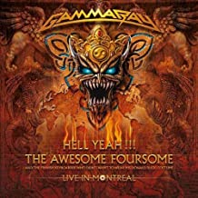 Hell Yeah!!! The Awesome Foursome: Live In Montreal (2CD) by Gamma Ray (2008-11-04)