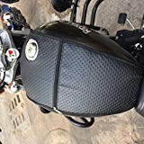 #4: Royal Enfield/Thunderbird/Tank Cover/Tank Bag/Black/Sahara