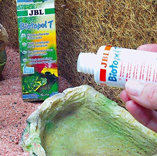 JBL Biotopol T 71001 Wasseraufbereiter für Terrarien, 50ml