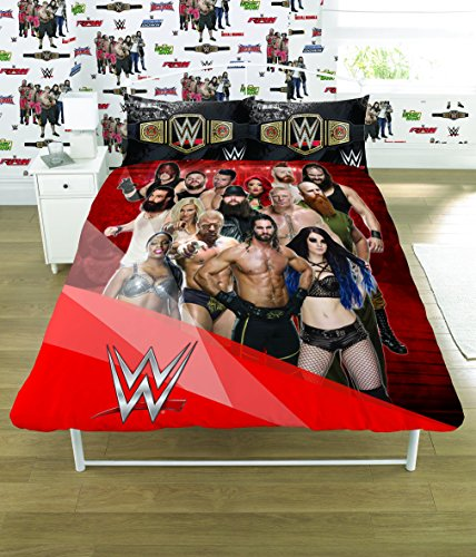wwe-2k17-face-vs-heel-single-double-duvet-cover-bed-set-reversible-panel-designs-double-duvet-cover