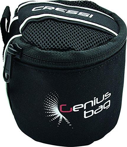 Cressi Tauch-Computer Tasche, schwarz, 0,5 liter (Tauchcomputer Cressi)