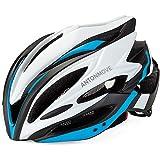 LXJ Cycling Helmet Mens Comfortable Breathable Road Bike Helmet Fully Shaped Bicycle Helmet Helmets