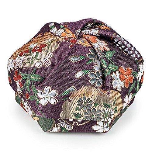 Florale Violette Boîte à Bijoux Japonaise Traditionnelle