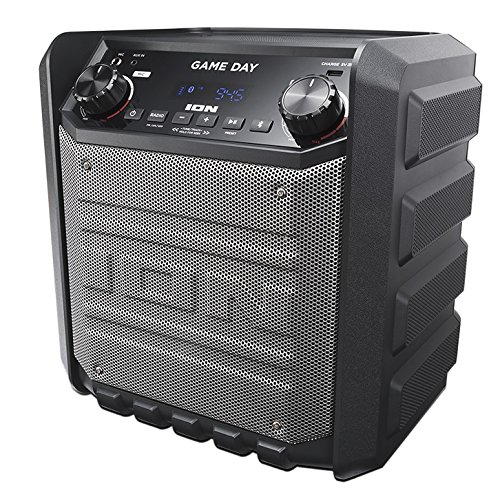 ION Audio Game Day - Altavoz externo recargable de...