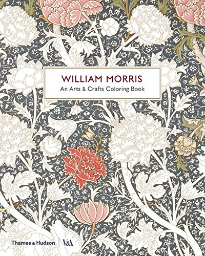 William Morris & co, an arts & crafts colouring book