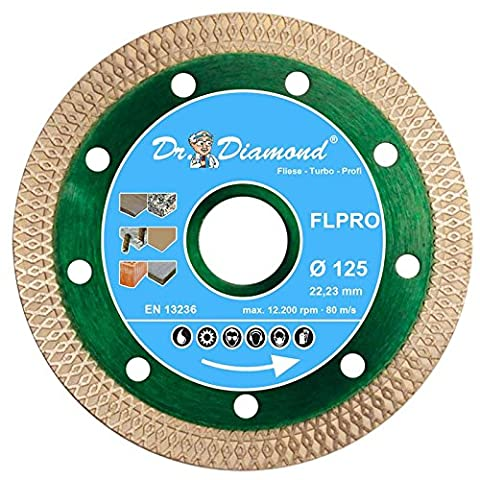 Dr. diamant à tronçonner diamant turbo-profi connecteur