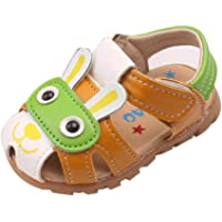 SHOBDW Boys Shoes, Toddler Kids Baby Boys Summer Shoes with Flashing Lights Sandals Cute Cartoon