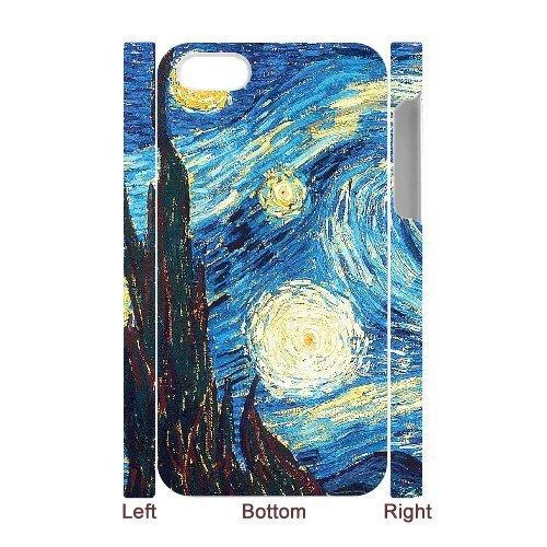 LP-LG Phone Case Of Van Gogh For Iphone 5C [Pattern-6] Pattern-6