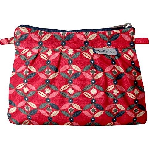 Papà Piqué E Mamma Cuci Mini Bag Slub Pétale Paprika
