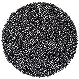 Papillon Quarzkies schwarz 5 kg, Aquariengrund 1-2mm